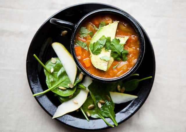 White Bean Chili with Winter Vegetables | Kimberley Hasselbrink (The ...