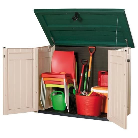 Keter Store It Out XL Plastic Garden Storage Box 1300 Litre Capacity