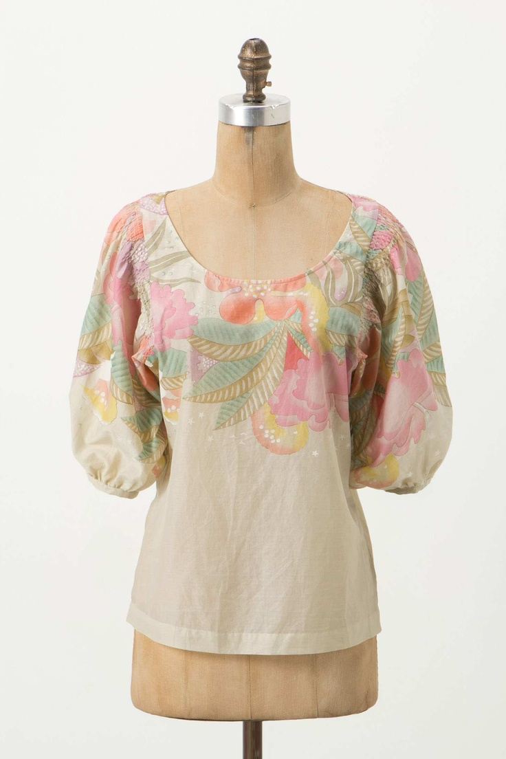 Anthropologie Peasant Blouse 4