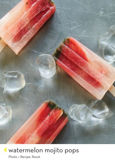 watermelon-mojito-pops-Roost-Design-Crush | Beverages, cocktails, and ...