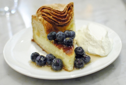 Vanilla Custards With Roasted Blueberries Recipes — Dishmaps