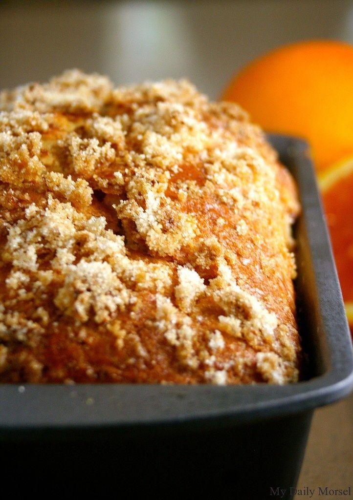 Orange White Chocolate Bread | Sweet Breads | Pinterest