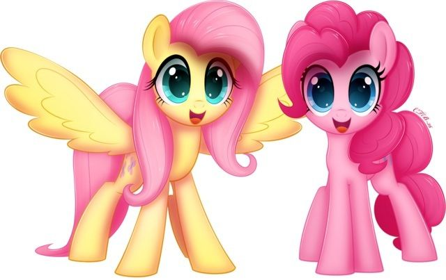Fluttershy and pinkie pie a true pegasister pinterest