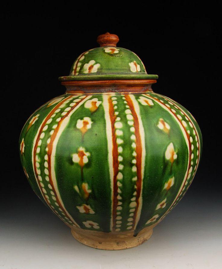 Tang Dynasty Pottery Pin by sjane steward o...