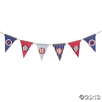 nautical banners flags