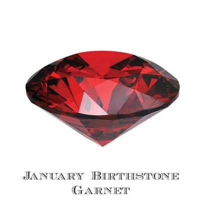 January Birthstone - Garnet, Traditional and Metaphysical Meanings # ...