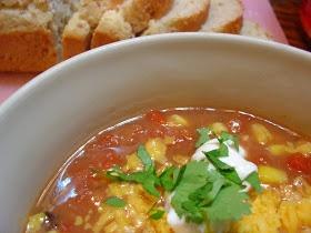Hearty Fiesta Bean Soup | food | Pinterest