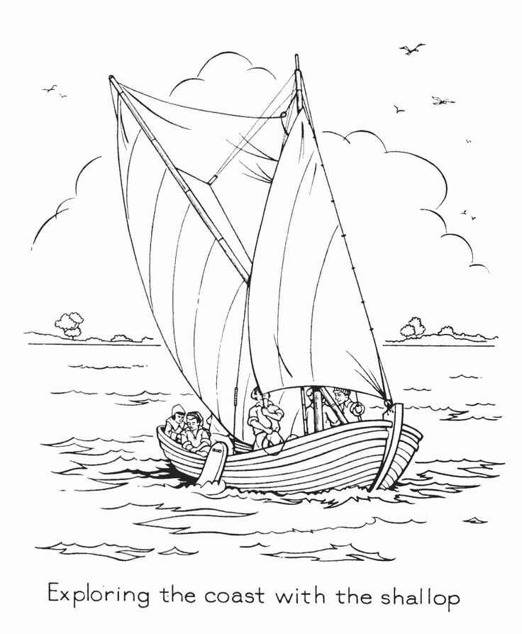 jamestown coloring pages - photo#1