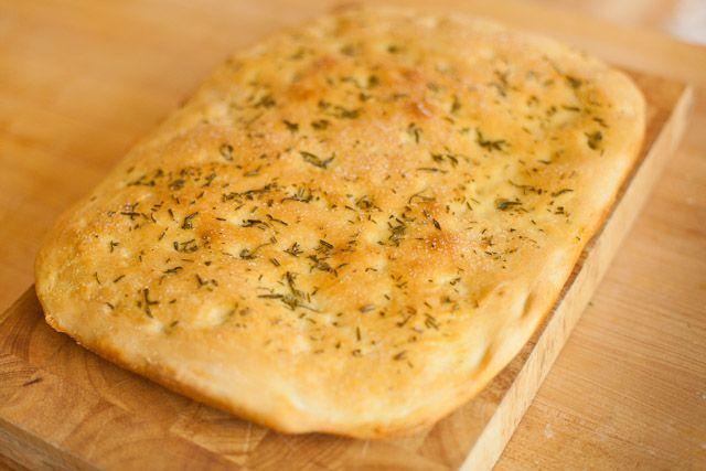 easy focaccia bread recipe | Bread | Pinterest