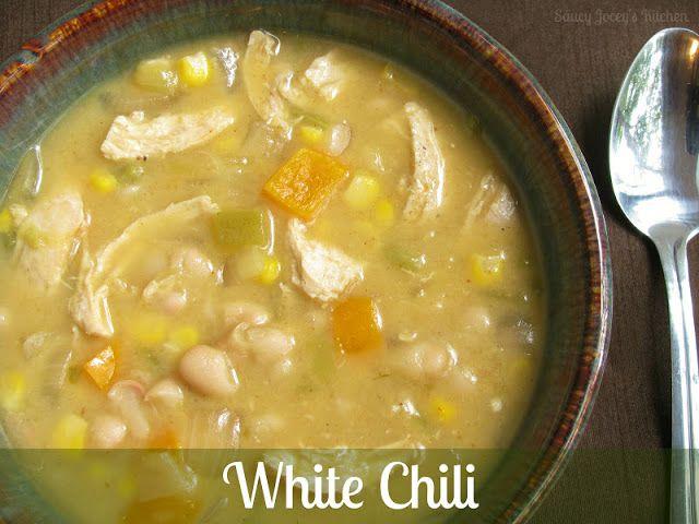White Chili | Recipes | Pinterest