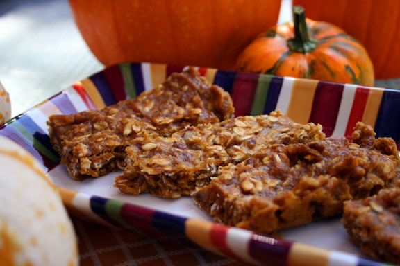 Pumpkin Energy Bar Recipe. Good source of protein for the more pumped ...