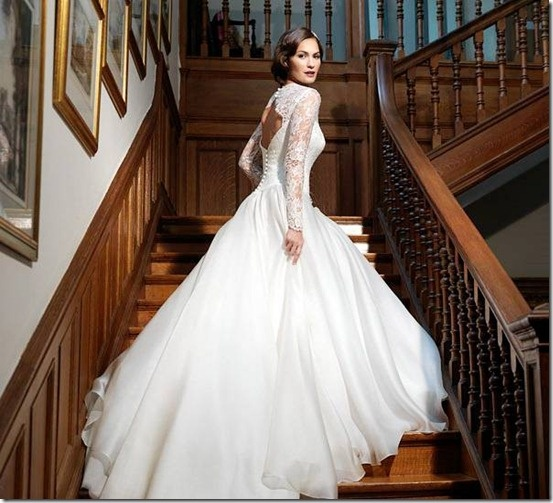 Winter Theme Wedding Dresses 29