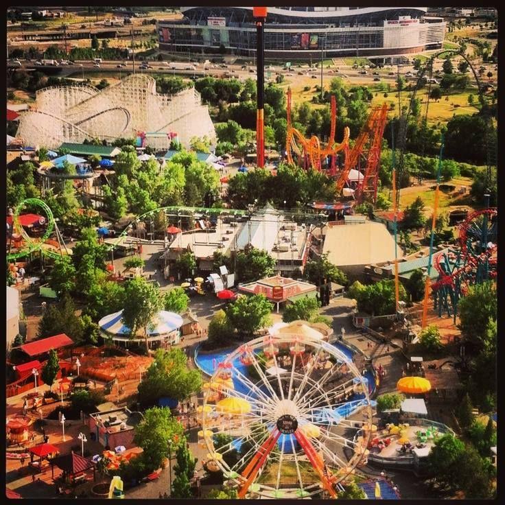 Elitch Gardens In Denver