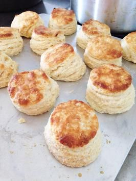 How To Make Light And Flaky Buttermilk Biscuits Recipe — Dishmaps