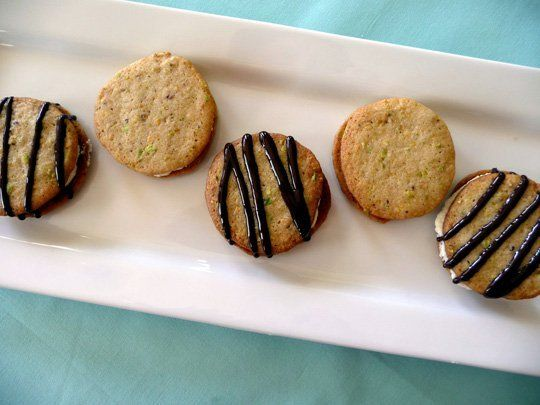 Cannoli Sandwich Cookies — Guest Post from Katie of goodLife {eats}