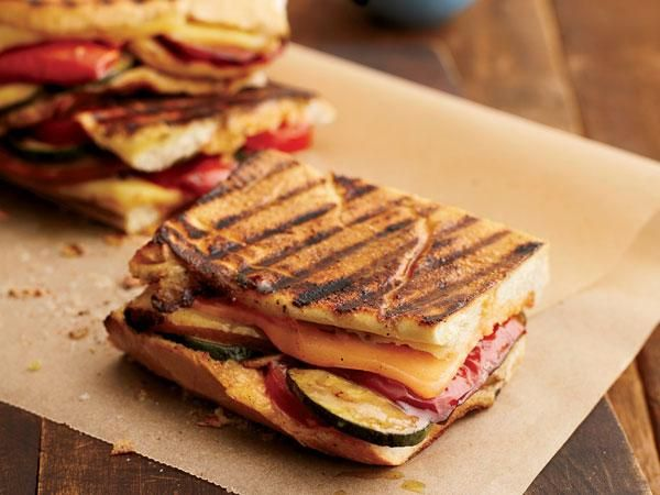 Spicy Grilled Vegetable Panini | {Yum} | Pinterest