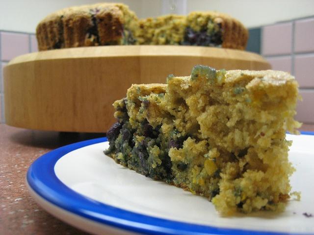 blueberry meyer lemon coffee cake | Food | Pinterest
