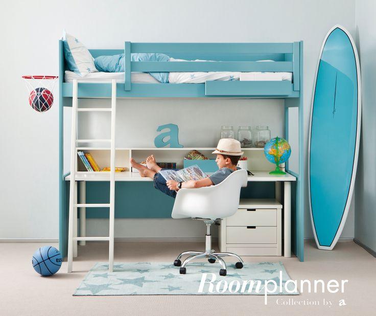 Kinderkamer naar wens gemaakt, kies uit meer dan 16 kleuren en maak de ...