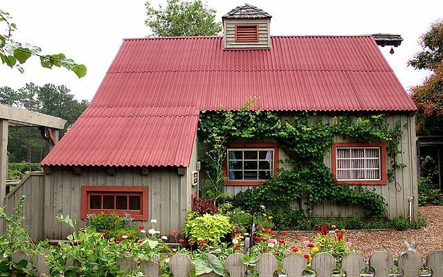 Nice Backyard Sheds : Great garden shed  Sheds~Garden Sheds  Pinterest