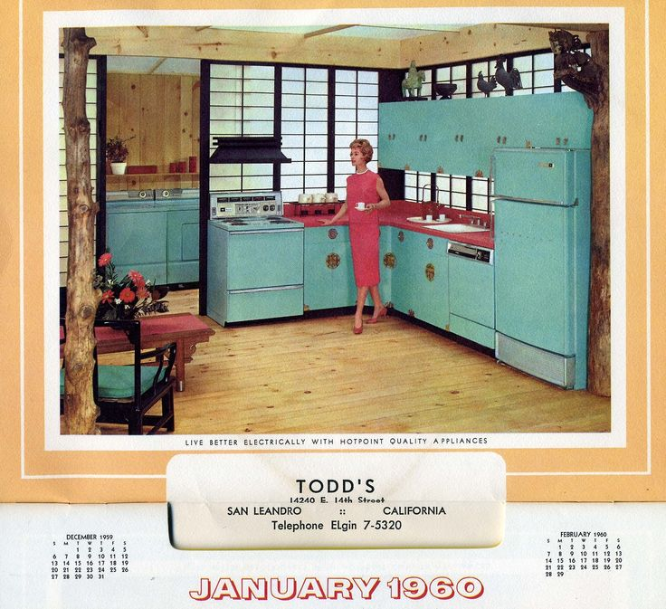 Filled With Glorious Vintage Kitchens Filled With Oodles Of Color