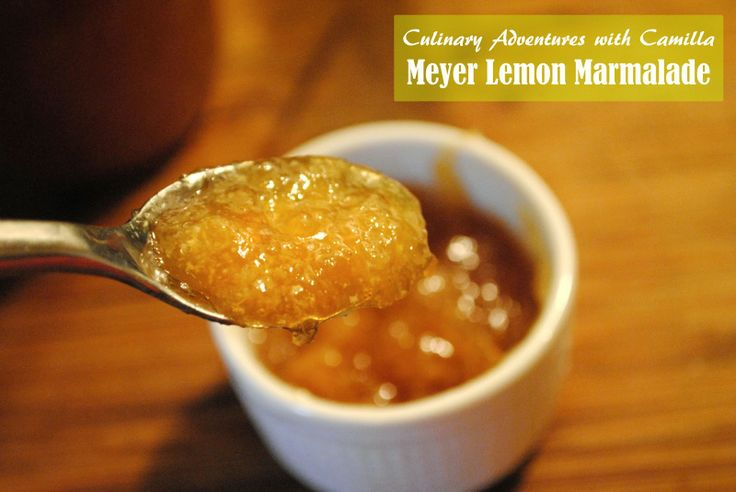 Meyer Lemon Marmalade Recipe — Dishmaps