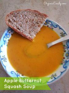 Apple Butternut Squash Soup | Vegetarian - Vegan Soups | Pinterest