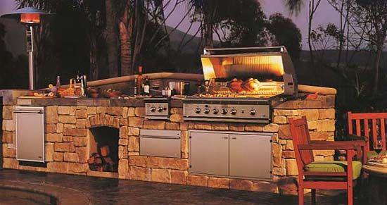 Wish list: beautiful outdoor kitchen!