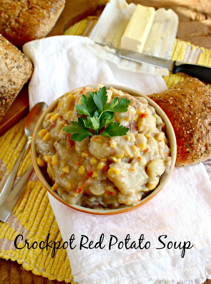 Crockpot) Red Potato Soup | Recipe