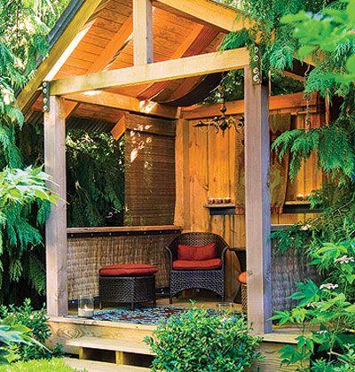 cozy backyard bungalow cute