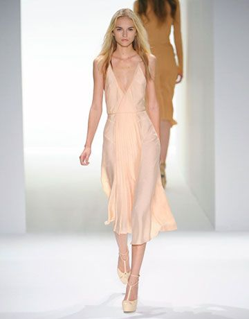Francisco Costa for Calvin Klein - soft colors and sorbet separates