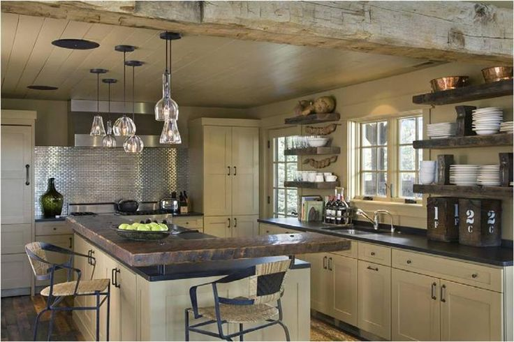 jack creek rustic kitchen homey country rustic kitchen by carter
