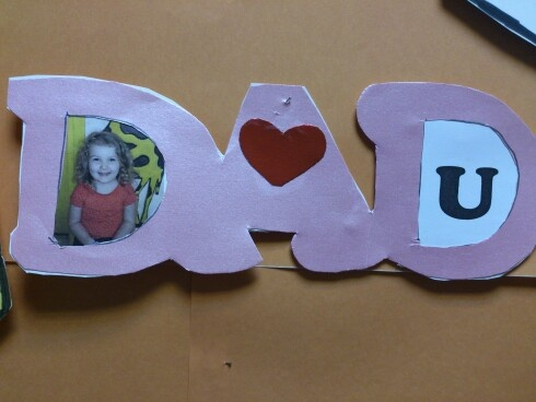 preschool fathers day crafts
