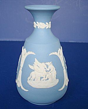 Light Blue Wedgwood Jasperware Vase Wedgwood Pinterest