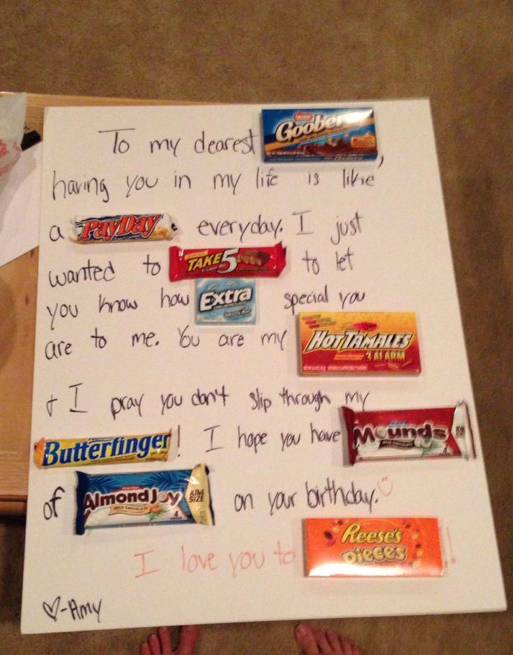 Great boyfriend gift boyfriend gifts pinterest for A perfect gift for your boyfriend