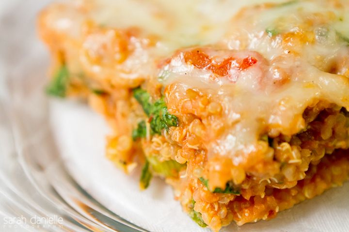 Quinoa-Spinach Bake Recipe — Dishmaps