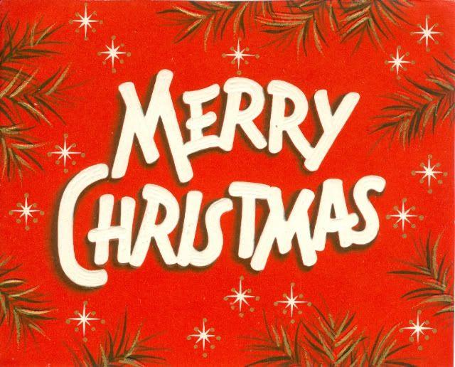 merry christmas vintage card christmas paper pinterest. Black Bedroom Furniture Sets. Home Design Ideas