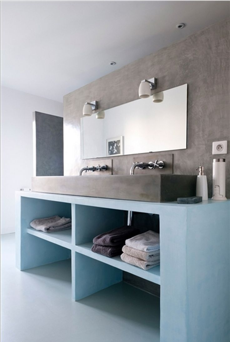 Salle de bain contemporaine for the home pinterest for Salle de bain contemporaine