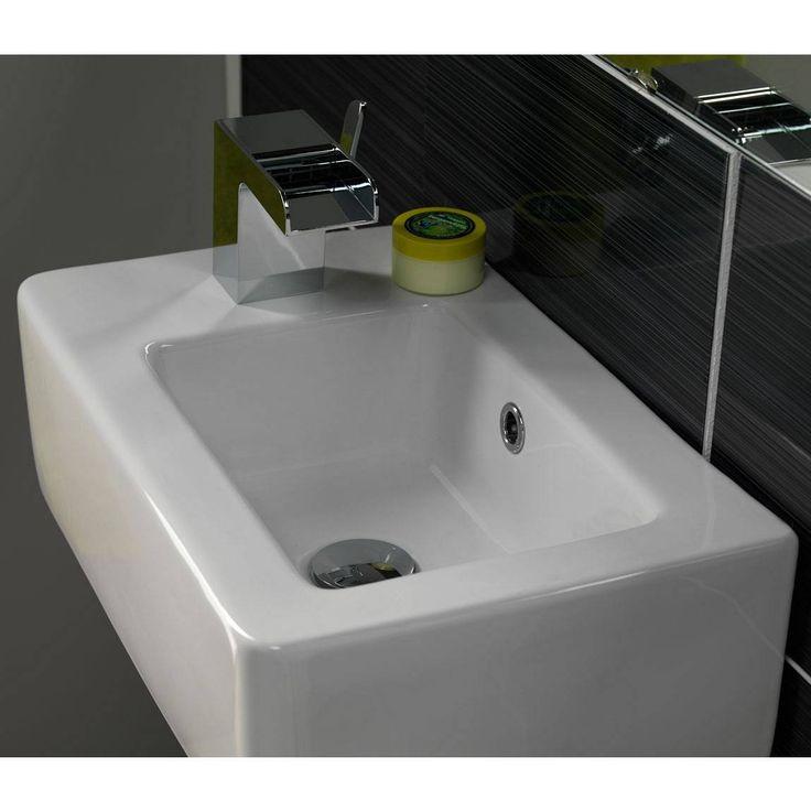 Slim Wall Hung Basin : Chase Wall Hung Basin Small Bathrooms Pinterest