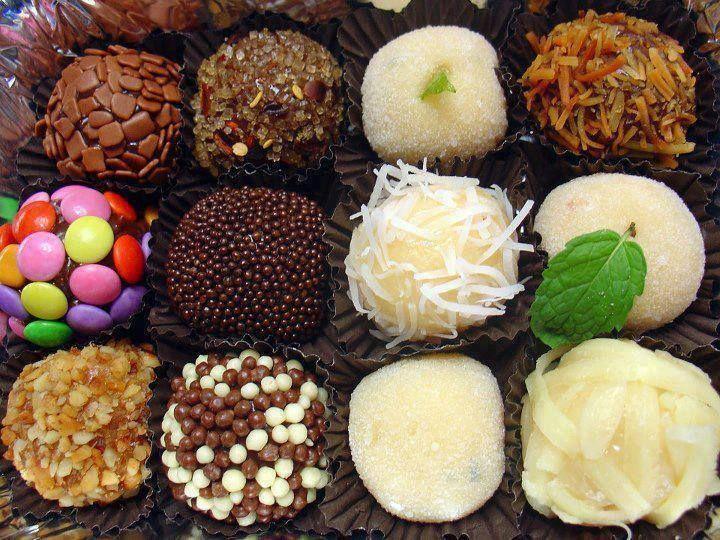 brigadeiros | Brazilian Cuisine | Pinterest