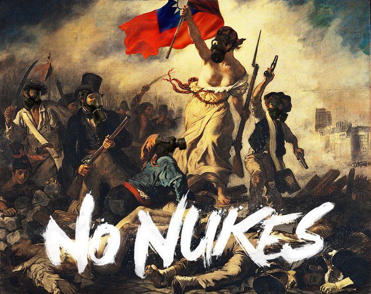 TAIWAN NO NUKES
