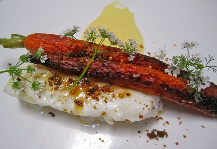 Spiced Halibut On Grapefruit Fennel Slaw Recipe — Dishmaps
