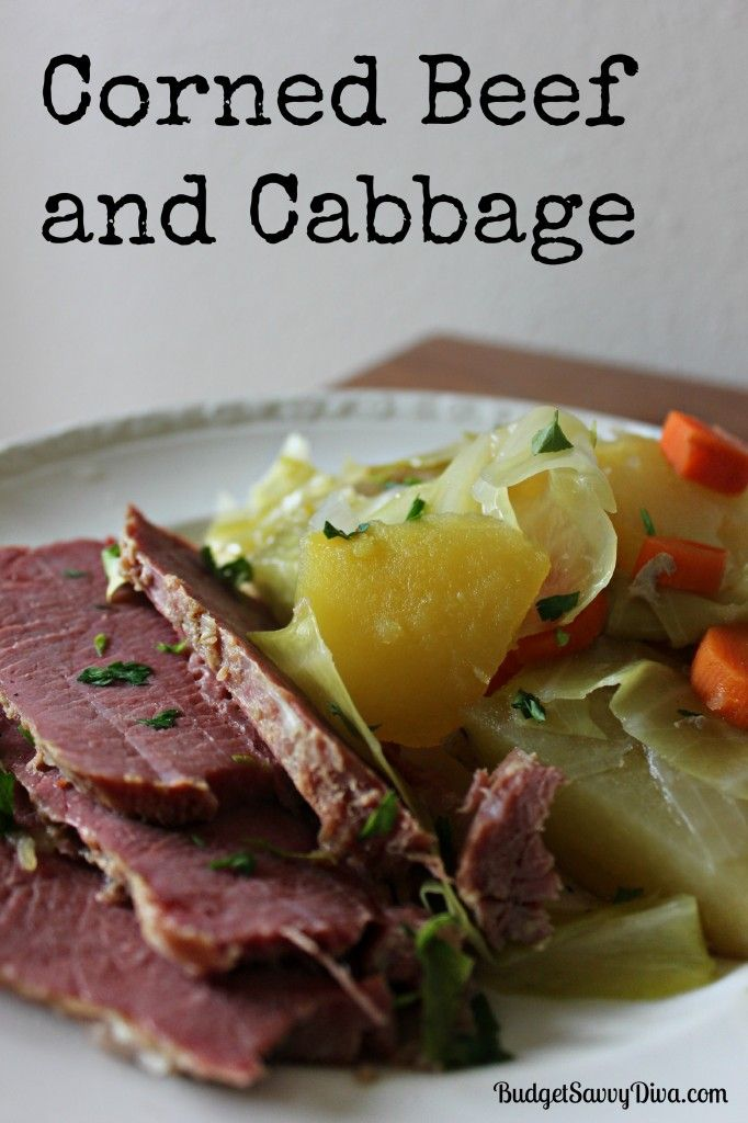 Corned Beef And Cabbage Recipe — Dishmaps
