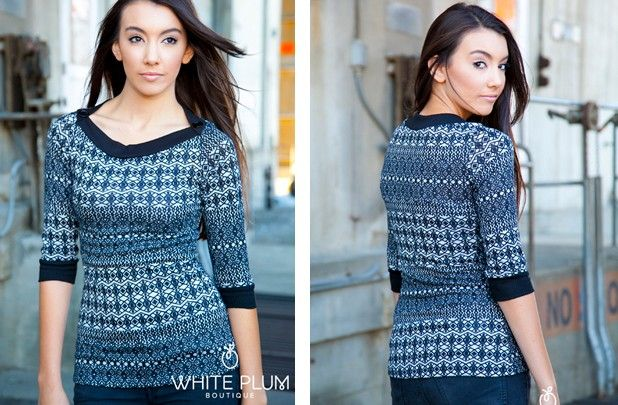 Winter Girls Short & Long Tops For Girls | Winter Sweaters 2014 ...