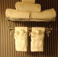 Creating A Pocket In Your Hanging Hand Towels For A Decorative Look 1 Grab A Hand Towel And