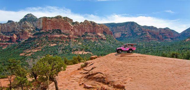 Pink jeep tours sedona discount coupon