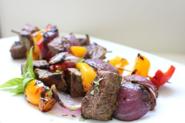 Lime and Basil Beef Kebabs | Coconut Recipes | Pinterest