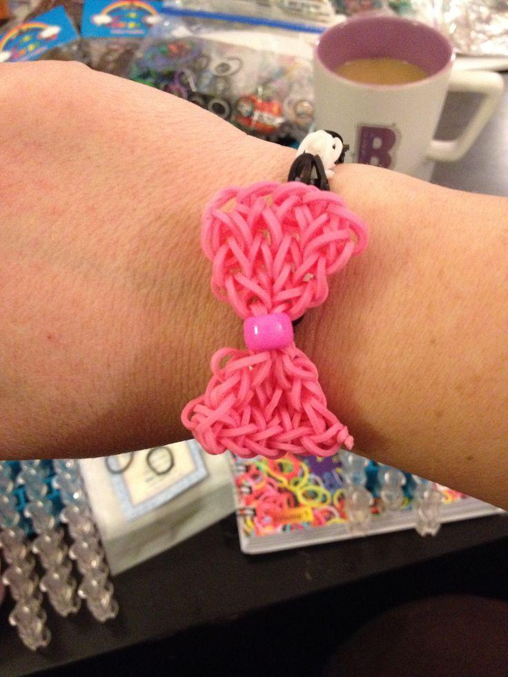 Download image ... Rainbow Loom Bow Tie Bracelet