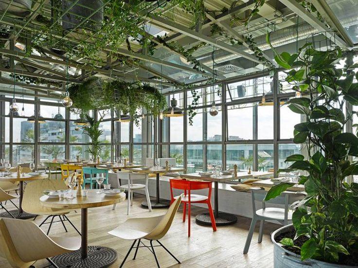 25hours Hotel Bikini Berlin NENI Berlin Restaurant Greenhouse