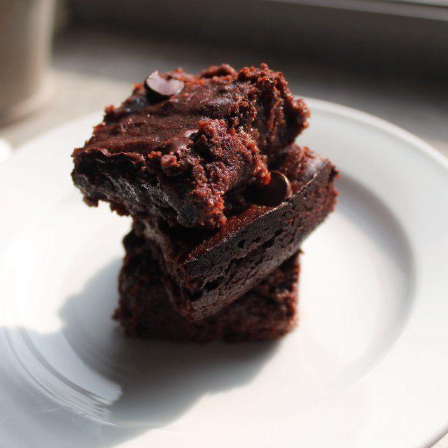 chocolate raspberry brownies | Vegan Sweet Tooth | Pinterest