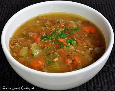 Lentil and Sausage Soup | Recipes - Soups & Stews | Pinterest